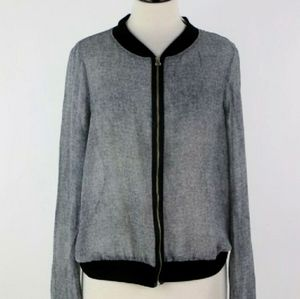 Studio Y Sheer Zippered Jacket